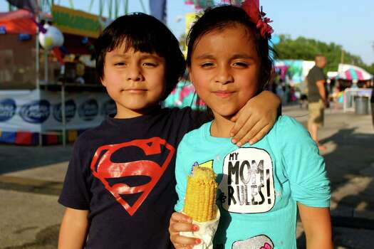 San Antonians were ready to have a great time during Fiesta Carnival at the Alamodome. Photo: By Yvonne Zamora, For MySA.com