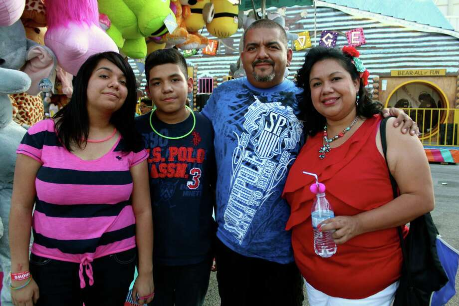 Revelers were ready to party and have a great time during Fiesta Carnival at the Alamodome. Photo: By Yvonne Zamora, For MySA.com