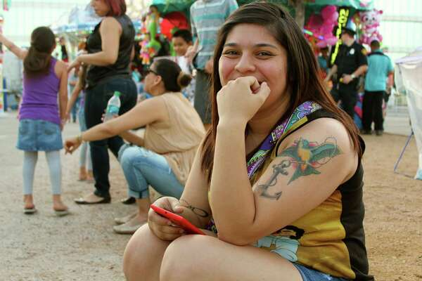 Revelers were ready to party and have a great time during Fiesta Carnival at the Alamodome.
