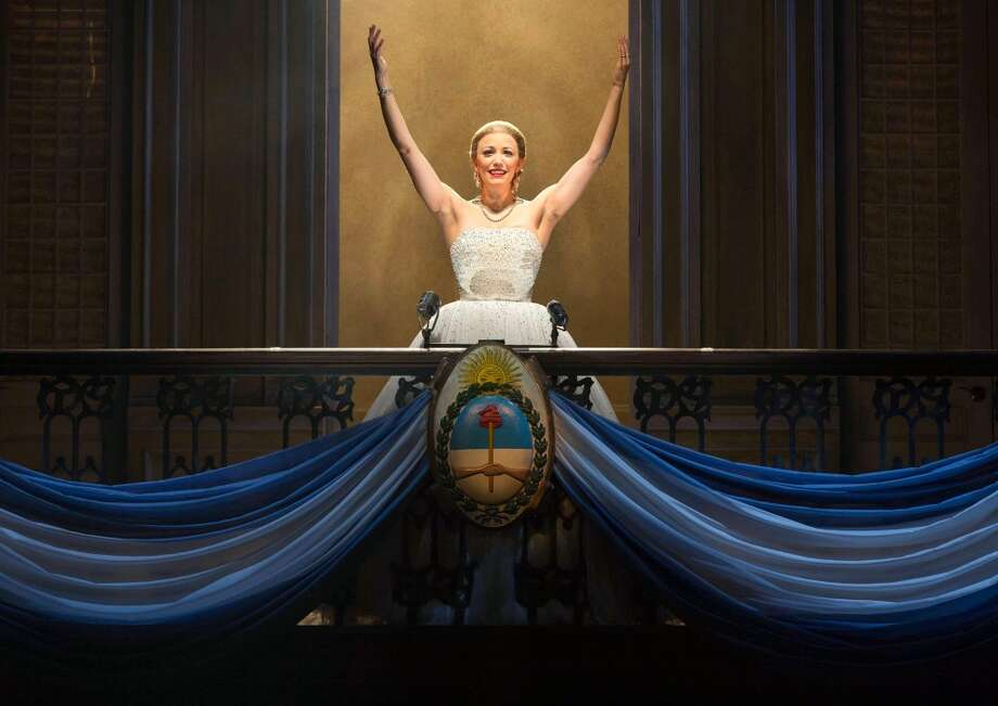 "Opening: ""Evita."" April 29-May 4, Majestic Theatre. ticketmaster.com. Courtesy photo. Photo: Richard Termine, Photo By RICHARD TERMINE"