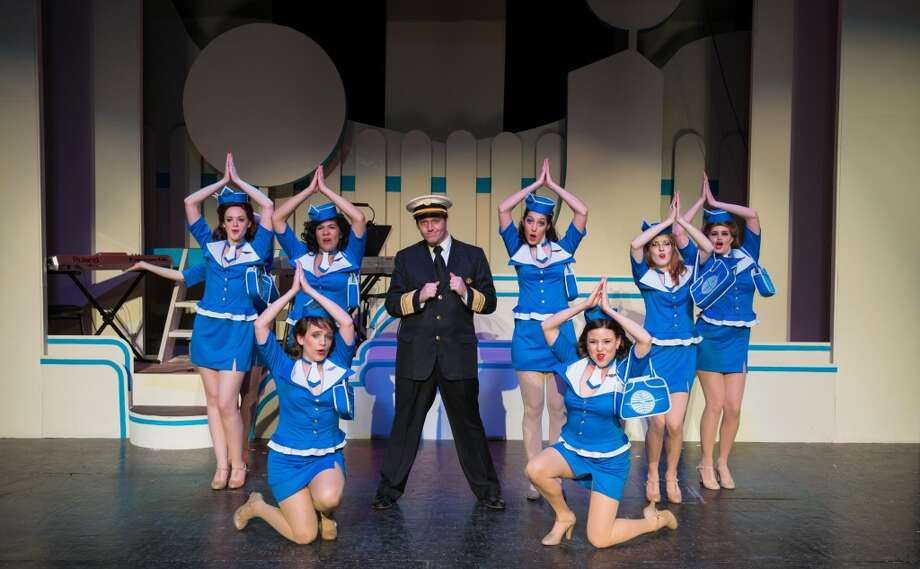 "Delightful musical: ""Catch Me If You Can."" Through May 11, Woodlawn Theatre. woodlawntheatre.org; 210-267-8388. Courtesy photo. Photo: Siggi Ragnar"