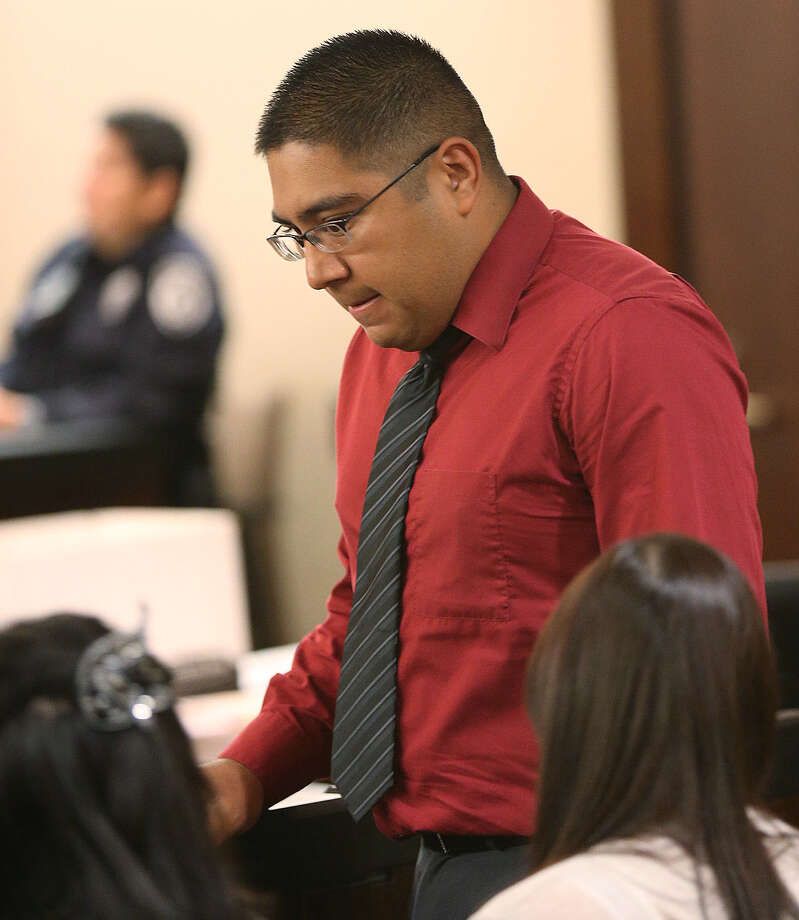 John A. Guerrero got deferred adjudication probation and was ordered to take anger-management and parenting classes. Photo: Jerry Lara / San Antonio Express-News / © 2014 San Antonio Express-News