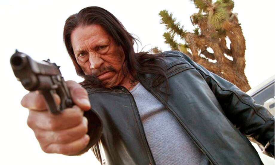 """""""Bullet""""– Danny Trejo is Frank """"Bullet"""" Marasco, a cop whose fists are just as deadly as his gun. When mob boss Carlito Kane (Jonathan Banks) kidnaps the governor's daughter - and Bullet's grandson - the streets of Los Angeles become a very deadly place to be.Now Available Photo: No Credit / ."""