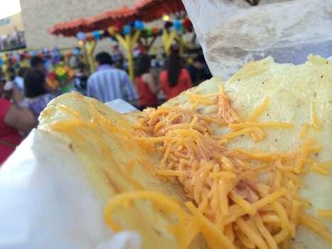 Changes were made to Maria's Tortillas at NIOSA this year. Photo: Benjamin Olivo, MySA.com
