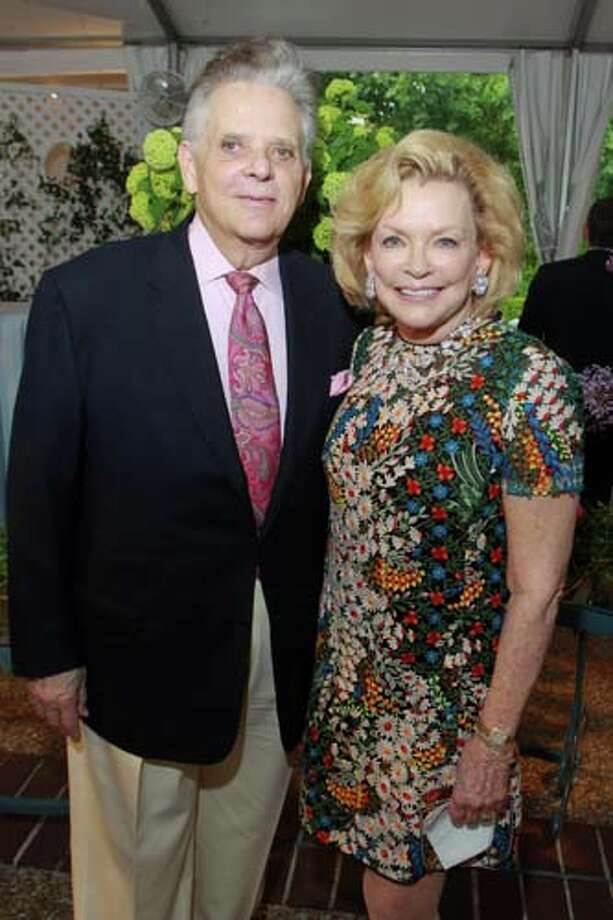 Victor and Jerry Ann Costa at the 2014 Rienzi Spring Party. Photo: Gary Fountain, For The Chronicle / Copyright 2014 by Gary Fountain