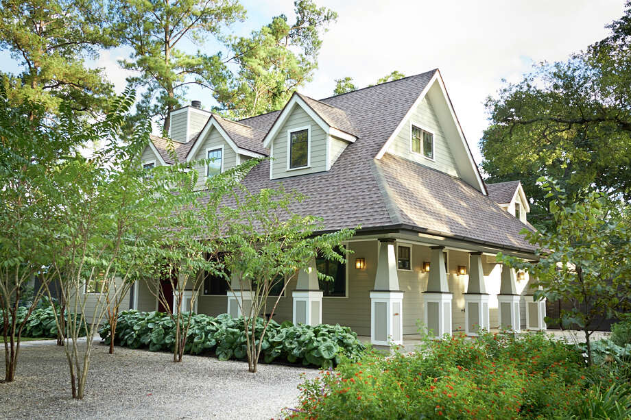 This new construction is one of 10 sites on the Garden Oaks Home and Garden Tour Sunday.