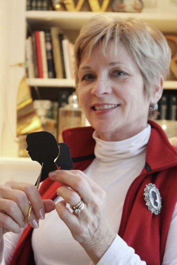 The Beehive shop, 1561 Post Road, is hosting silhouette artist Ruth Monsell of Damariscotta, Maine, on Saturday, May 10. Photo: Contributed Photo / Fairfield Citizen