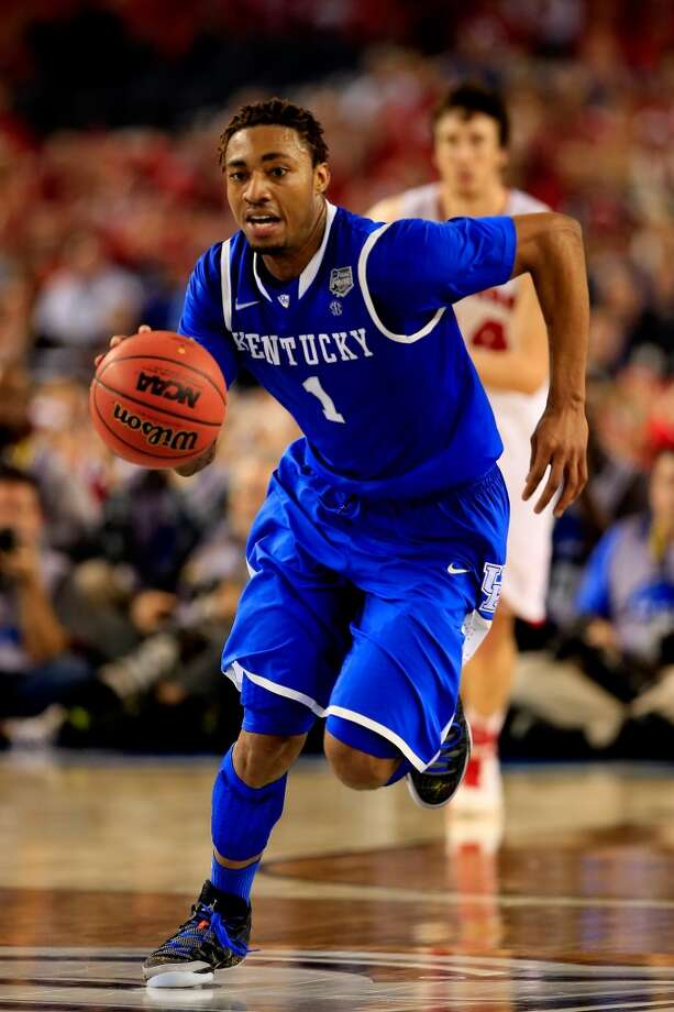 James Young  Position: Guard  Ht./Wt: 6-6/215 lbs  School: Kentucky  Classification: Freshman  2013-14 stats: 14 points, four rebounds, two assists, one steal per game Photo: Jamie Squire, Getty Images