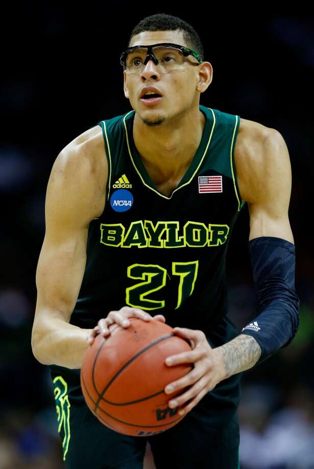 Isaiah Austin  Position: Center  Ht./Wt: 7-1/225 lbs  School: Baylor  Classification: Sophomore  2013-14 stats: 11 points, five rebounds, one assist, three blocks per game Photo: Tom Pennington, Getty Images