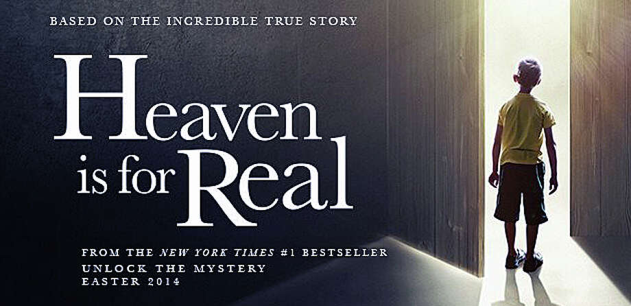 "The movie, ""Heaven is for Real,"" based on a non-fiction book, is now playing in area movie theaters. Photo: Contributed Photo / Westport News"