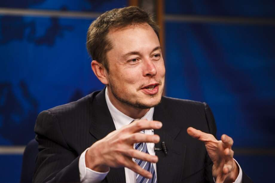 Tesla CEO Elon Musk predicted that cars could drive autonomously across the country in two years' time. Photo: Michael Paulsen, Houston Chronicle