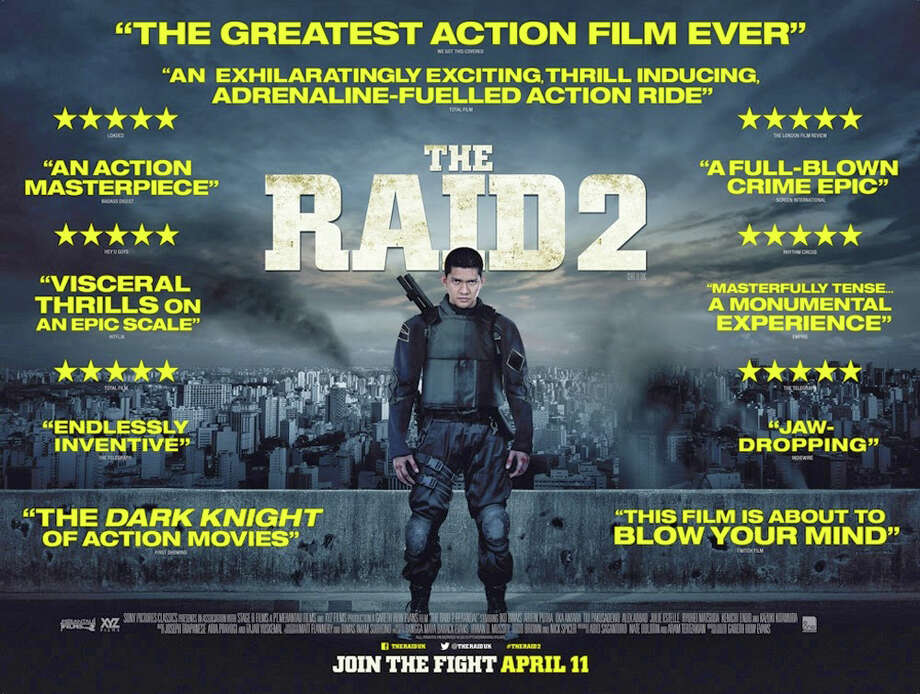 """The Raid 2"" is an Indonesian martial-arts film, a sequel to the 2011 movie, ""ìRaid: Redemption."" Photo: Contributed Photo / Westport News"