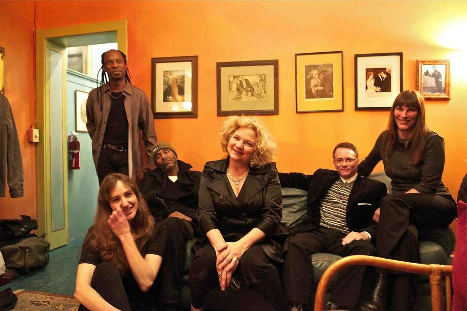 San Francisco clarinetist and composer Beth Custer (center) leads the Beth Custer Ensemble at Yoshi's San Francisco on May 14, one of several shows she's playing locally this month. Photo: Courtesy Beth Custer