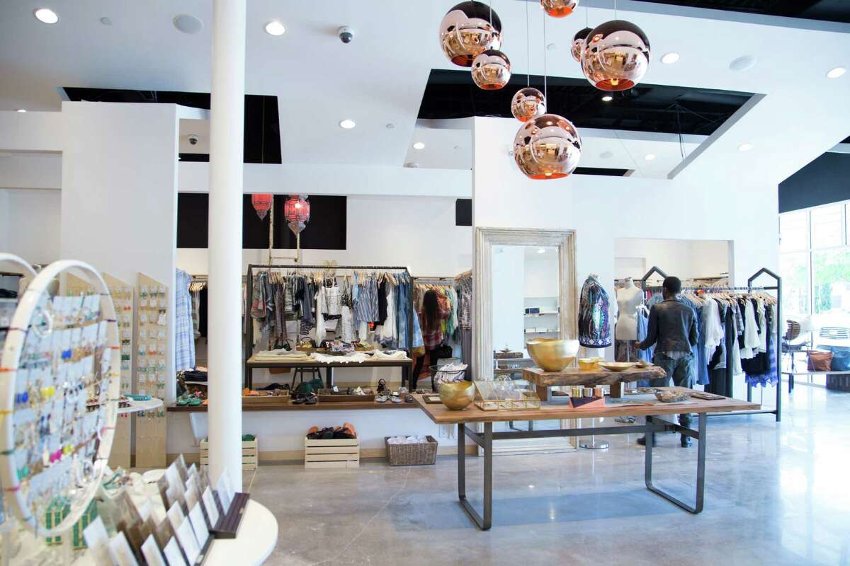 The Lily Rain store, which opened in March, is the Houston-based company's first store.
