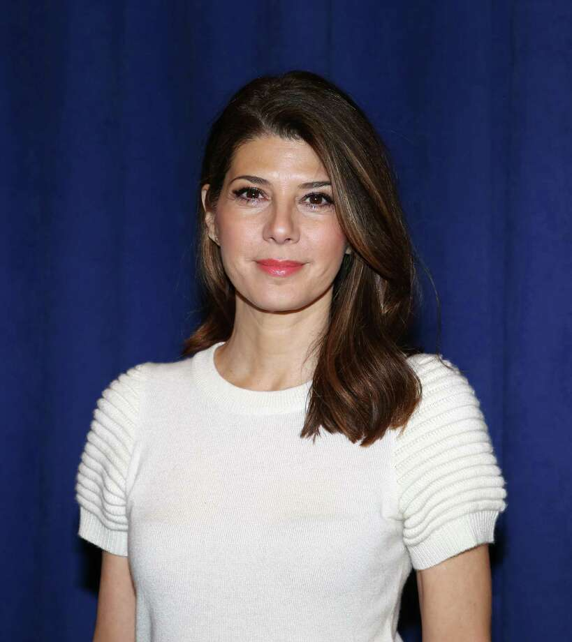 "Marisa Tomei, 2014. (Photo: Preview of ""The Realistic Joneses"" play on Broadway).  Photo: Walter McBride, Getty Images / 2014 Walter McBride"