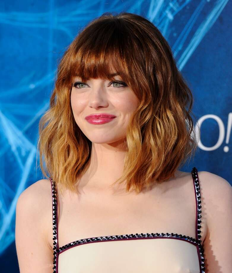 "Actress Emma Stone attends the premiere of ""The Amazing Spider-Man 2"" at the Ziegfeld Theatre on Thursday, April 24, 2014, in New York. Photo: Evan Agostini, Associated Press"