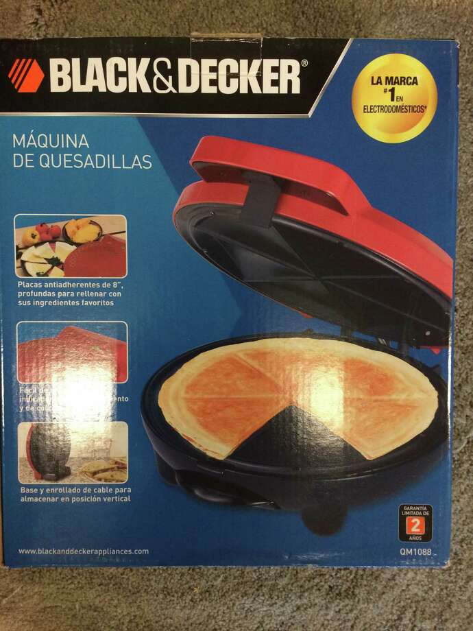 Bought on an impulse at a sale, this quesadilla maker had never even been opened. It sells for $30 on Amazon; on Yerdle, it went for 325 credit. Photo: Carolyn Said