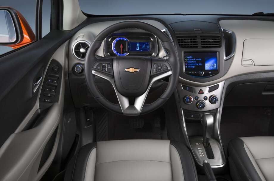 The new 2015 Chevy Trax Photo: Newspress USA