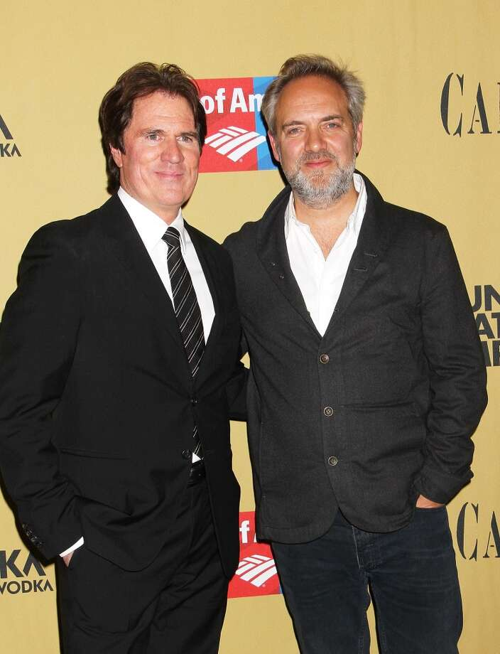 "Rob Marshall and Sam Mendes attend the Broadway opening night of ""Cabaret"" at Studio 54 on April 24, 2014 in New York City. Photo: Laura Cavanaugh, Getty Images"