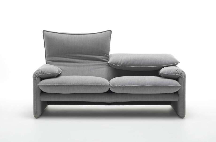 The 40th anniversary edition of the Cassina Maralunga sofa Photo: Ed / ONLINE_YES
