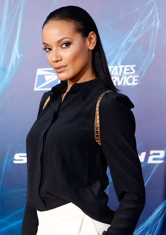 "Model/actress Selita Ebanks attends ""The Amazing Spider-Man 2"" premiere at the Ziegfeld Theater on April 24, 2014 in New York City. Photo: Jemal Countess, Getty Images"