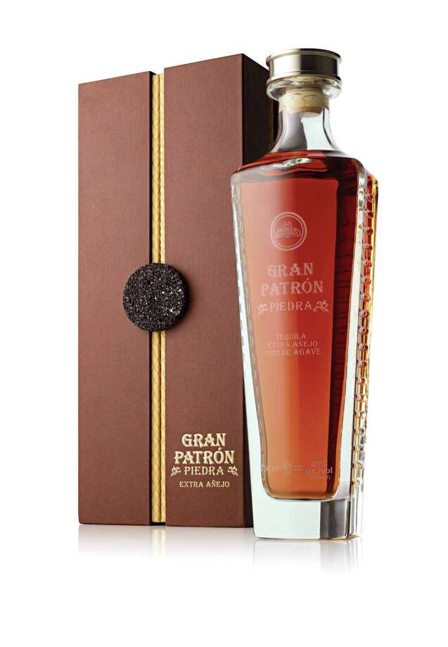 Patron Spirits has just released the limited-production Gran Patron Piedra, the brand s first extra anejo tequila. Aged for more than three years in new American and French oak barrels, the super elite tequila boasts a complex flavor profile with a distinct oak taste; $399. Photo: Patron Spirits / Patron Spirits