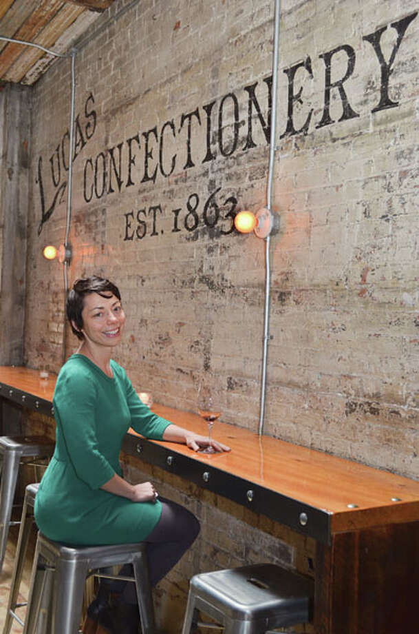 Heather LaVine, co-owner of Lucas Confectionery and Wine Bar in Troy Photo: Colleen Ingerto, Women@Work