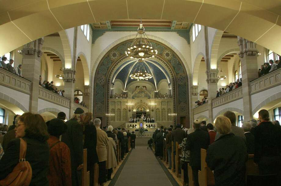 Germany's biggest synagogue is at Berlin's Rykestrasse. The city also has two other synagogues and some 10 Jewish houses of prayer; before World War II, it had 33 synagogues. Photo: Associated Press File Photo / AP