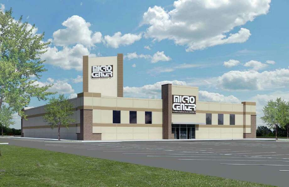 The 32,000-square-foot Micro Center is planned for 3.5 acres near South Rice Boulevard and Westpark Drive. It will be part of a larger development. / ONLINE_YES