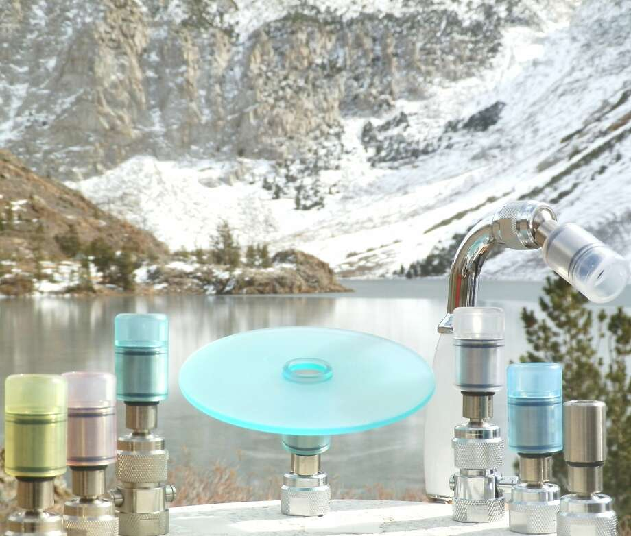 David Malcolm's line of High Sierra Showerheads  is selling well as people try to reduce water use. Photo: Courtesy Of David Malcolm