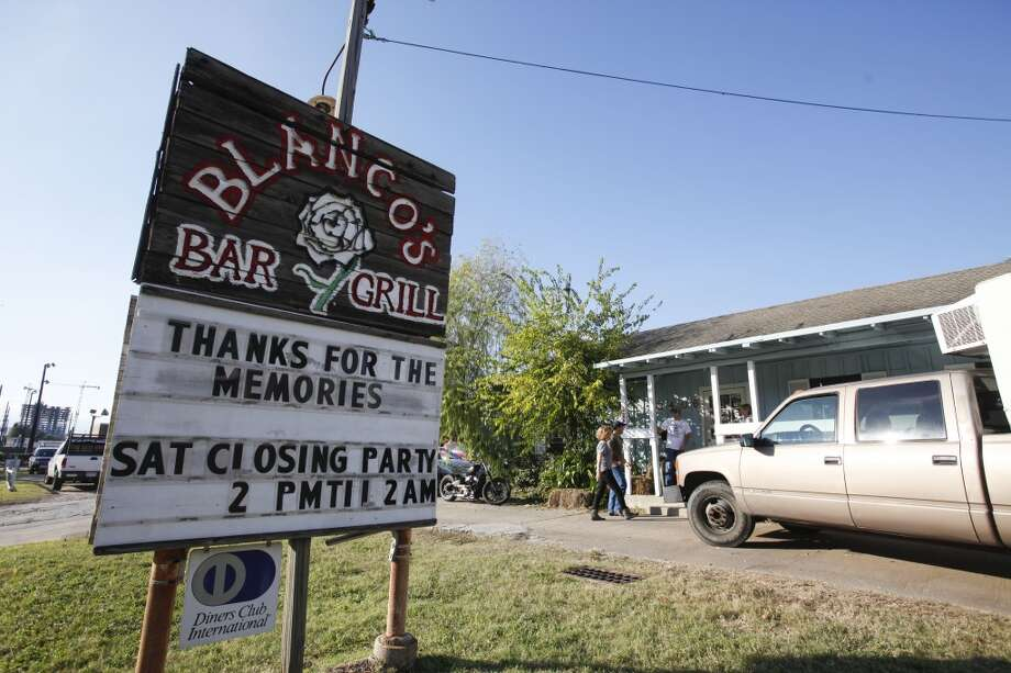 After being open since 1982, Blanco's celebrated its last night of business on Nov. 30, 2013. Photo: Eric Kayne, For The Chronicle