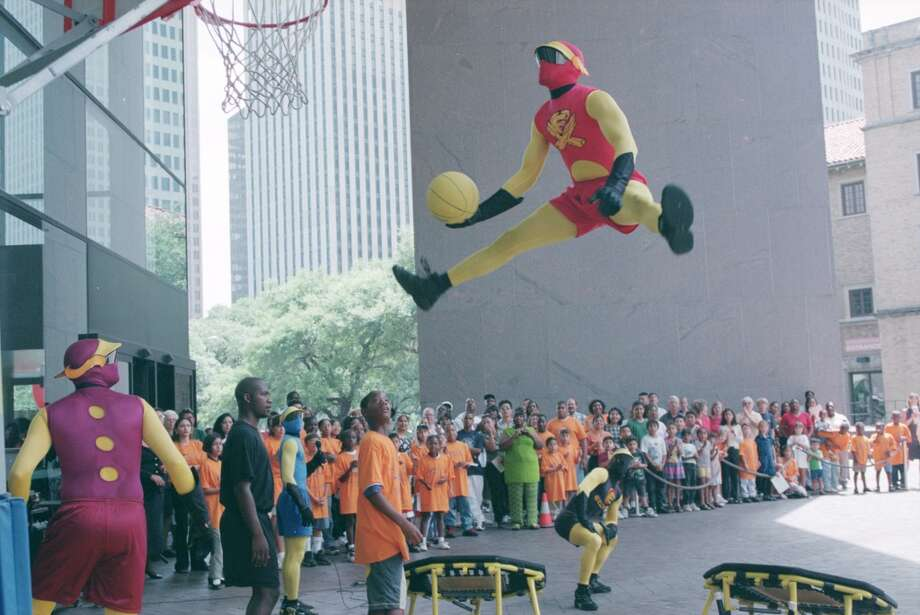 Houston has never been without amazing sports mascots in its history. From Orbit, to Turbo, to Toro, the city has always had great sweaty people in suits to cheer us up during defeat or pump us up during triumphant moments. See some of the best sports mascots that the city has seen... Photo: Betty Tichich, Houston Chronicle