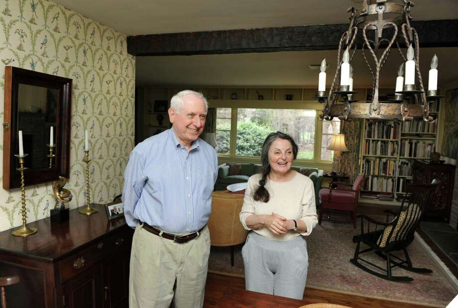 Joel and Wendy Brest in their Den Rd home in Stamford, Conn. on Monday April 14, 2014. Photo: Dru Nadler / Stamford Advocate Freelance