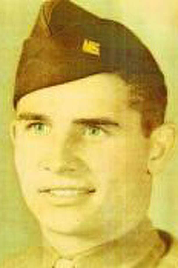 Travis M. Singleton was a member of the 44th Infantry Division in World War II.