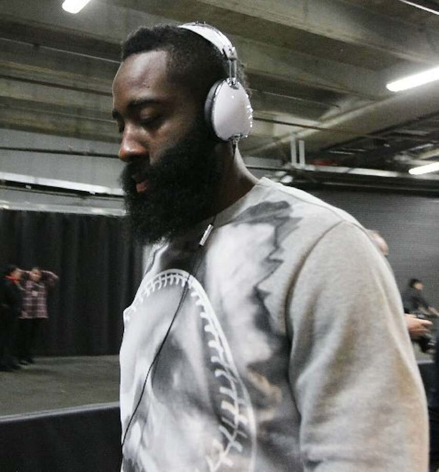 You have the beard already.All the best people in Houston have beards and you and James Harden can trade tips on expert beard care. There are special shampoos, you know.  Photo: James Nielsen, Houston Chronicle
