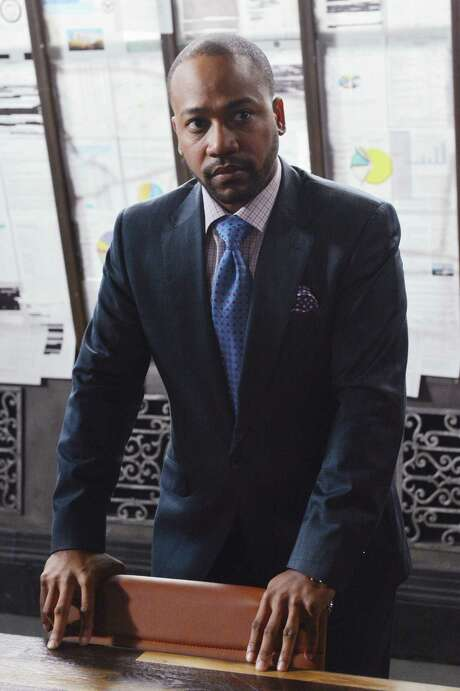 "This image released by ABC shows Columbus Short portraying Harrison Wright in a scene from the TV series, ""Scandal."" The 31-year-old actor says in a statement on Friday, April 25, 2014, he's exiting the ABC political thriller after three seasons.  (AP Photo/ABC, Eric McCandless) Photo: Eric McCandless, HONS / American Broadcasting Companies,"