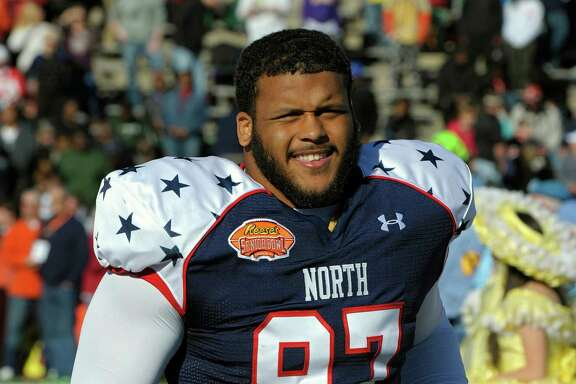 Former Pittsburgh defensive tackle Aaron Donald had quite the showing at the Senior Bowl and combine.