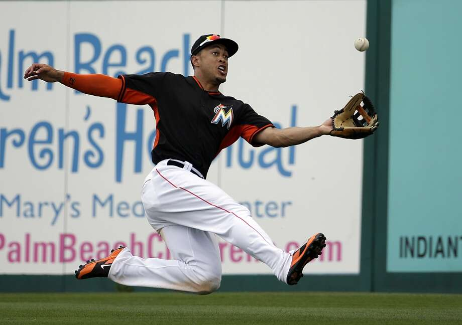 30. Miami MarlinsAverage pay per player: $1,549,515Highest paid player: Right fielder Giancarlo Stanton2014 earnings:  $6,500,000 Photo: David Goldman, Associated Press