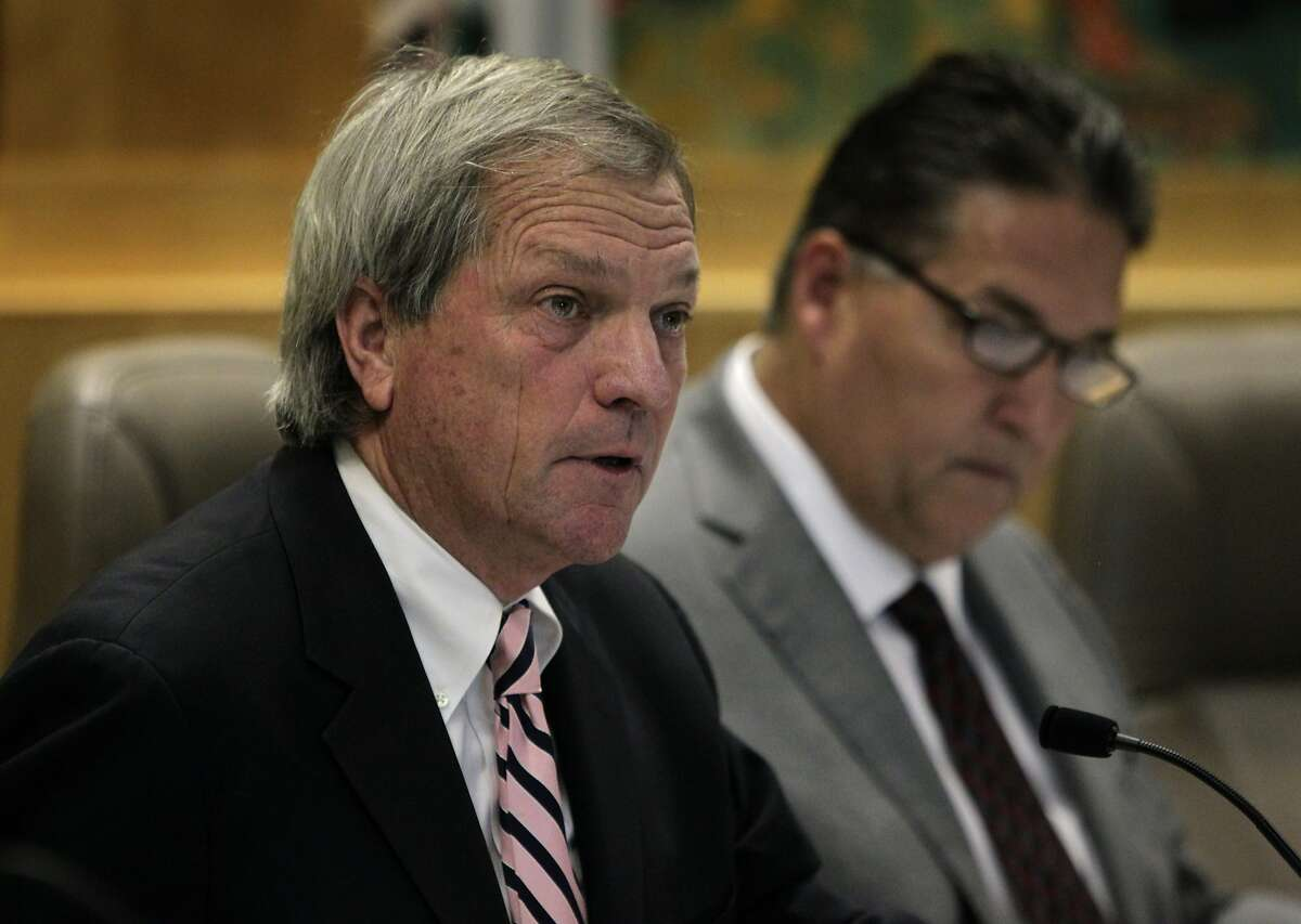 State Sen. Mark DeSaulnier, chairman of the Senate Committee on Transportation and Housing, has spoken out against the practice of leave payouts.