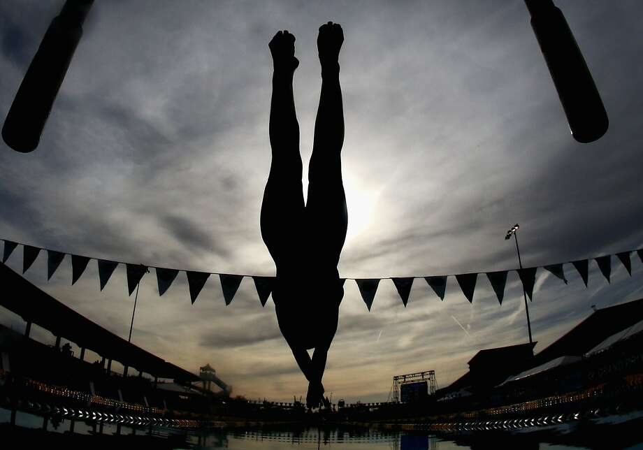 MESA, AZ - APRIL 25:  Isabella Rongione competes in the Women's 400m IM b-final during day two of the Arena Grand Prix at the Skyline Aquatic Center on April 25, 2014 in Mesa, Arizona.  (Photo by Christian Petersen/Getty Images) Photo: Christian Petersen, Getty Images