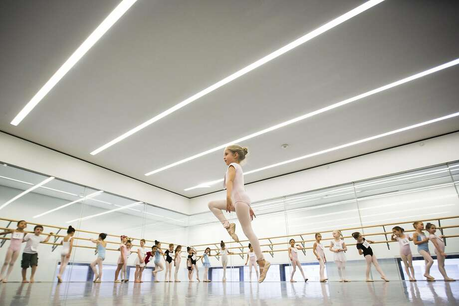 Children watch as a girl dances during an audition for the School of American Ballet in New York April 25, 2014. The school is holding auditions for over 600 beginner ballet students, who will be selected to fill the 120 spots available to study the dance on campus. REUTERS/Lucas Jackson (UNITED STATES - Tags: SOCIETY EDUCATION TPX IMAGES OF THE DAY) Photo: Lucas Jackson, Reuters
