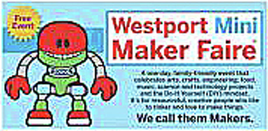 """The third Westport Mini Maker Faire, a showcase of invention, creativity and """"making stuff,"""" will take place today, from 10 a.m. to 4 p.m., at the Westport Library. Photo: Contributed Photo / Westport News"""