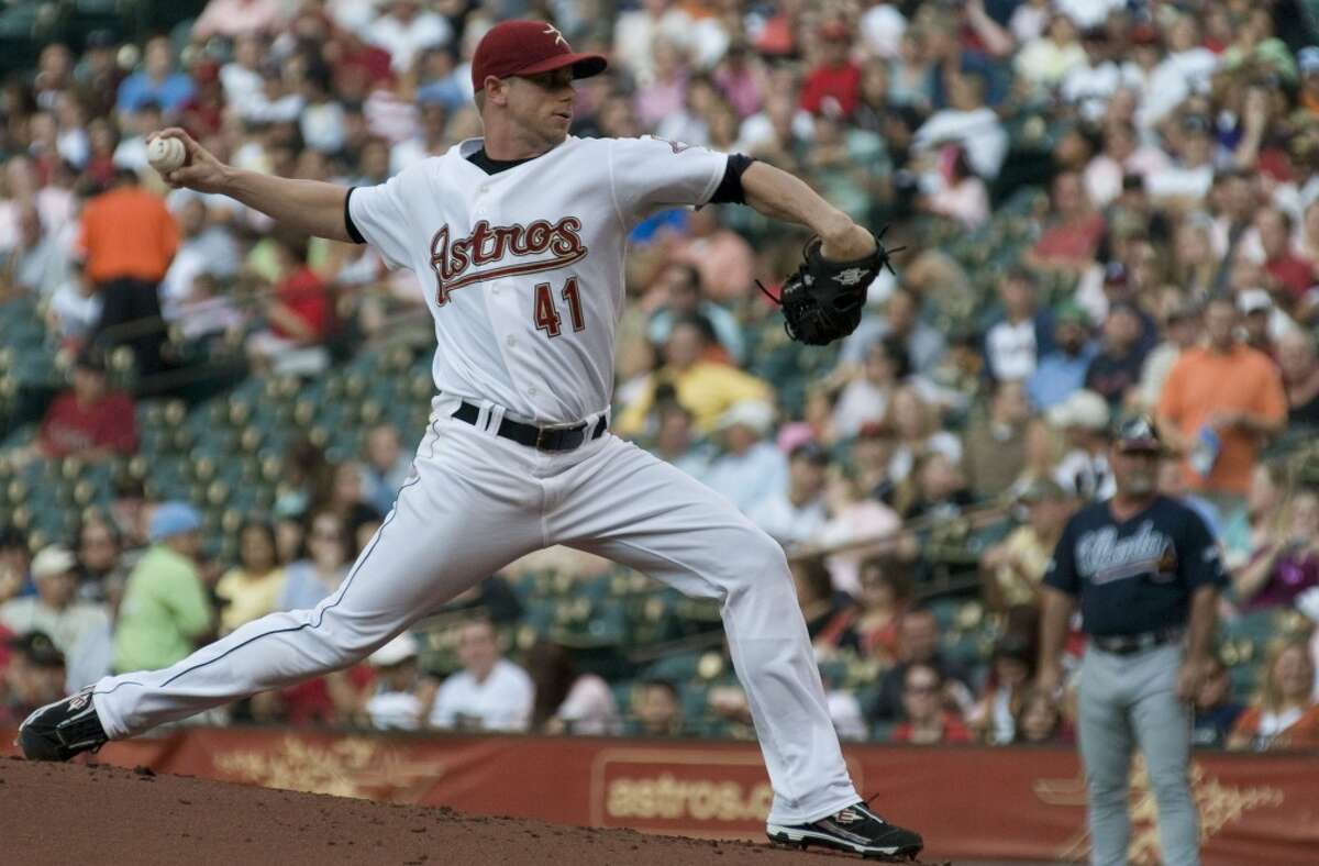 Brandon Backe Called into duty because scheduled starter Roger Clemens was out with a stomach virus, Backe allowed just two runs in five innings in the Astros' 5-3 win over the Giants to clinch a playoff spot in the final game of the 2004 regular season. Backe also allowed just one hit in eight innings in a 3-0 Astros win over the Cardinals in the 2004 NLCS.