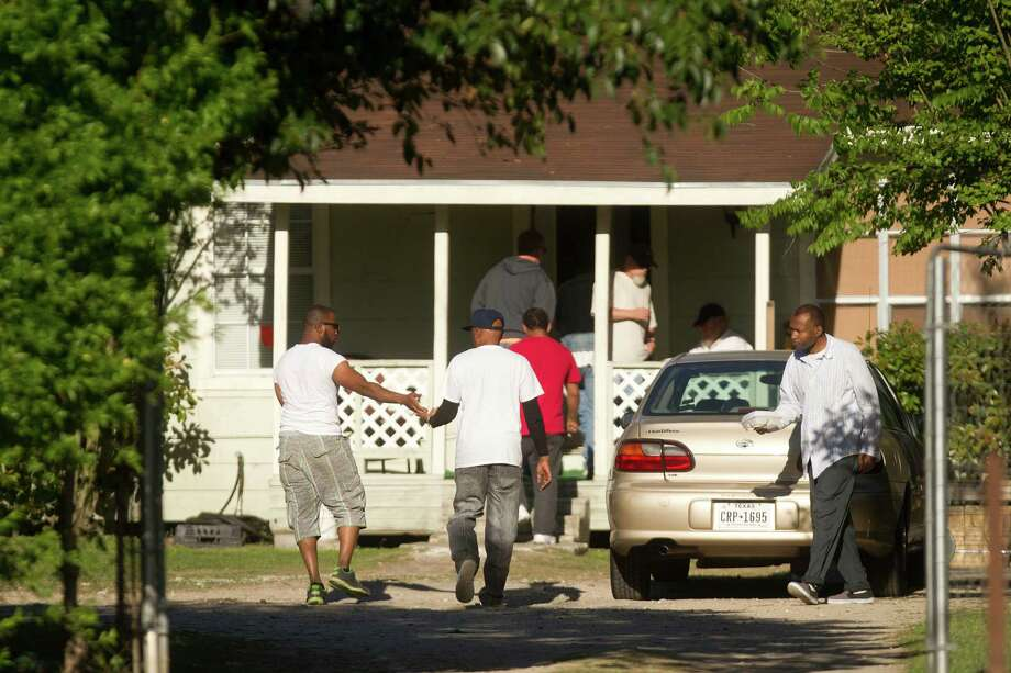 Until a public outcry forced the state to move them, a group of high-risk sex offenders was being housed in a home in the 9300 block of W. Montgomery Road in the Acres Homes neighborhood of north Houston. Photo: Johnny Hanson / © 2014  Houston Chronicle