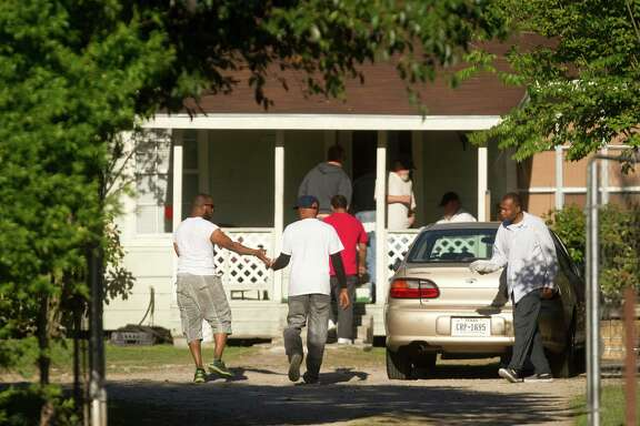Until a public outcry forced the state to move them, a group of high-risk sex offenders was being housed in a home in the 9300 block of W. Montgomery Road in the Acres Homes neighborhood of north Houston.
