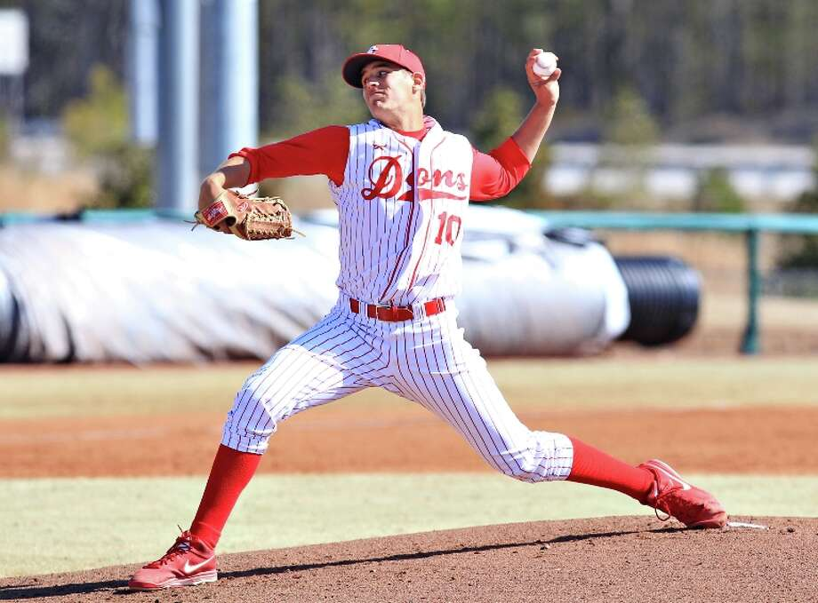 Brady Aiken, LHP  Height/weight: 6-4, 205  School: Cathedral Catholic High School, San Diego, CalifPros: Very polished and poised. Throws fastball, curve, change for strikes.Cons: Doesn't have overwhelming velocity or stuff. For any high school pitchers, you're biting off a lot of risk because they are so young and have so many innings to go in their development. Photo: Associated Press