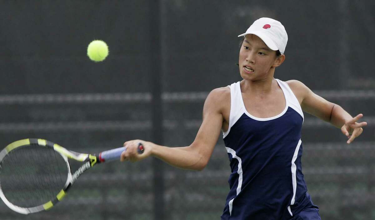 Johnson's Chuyang Guan will try to become the seventh girl in San Antonio-area history to win back-to-back state titles.