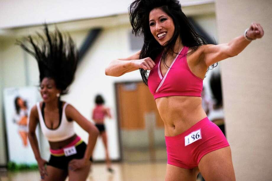 Nearly 300 young women danced at an open audition. Photo: JORDAN STEAD, SEATTLEPI.COM / SEATTLEPI.COM