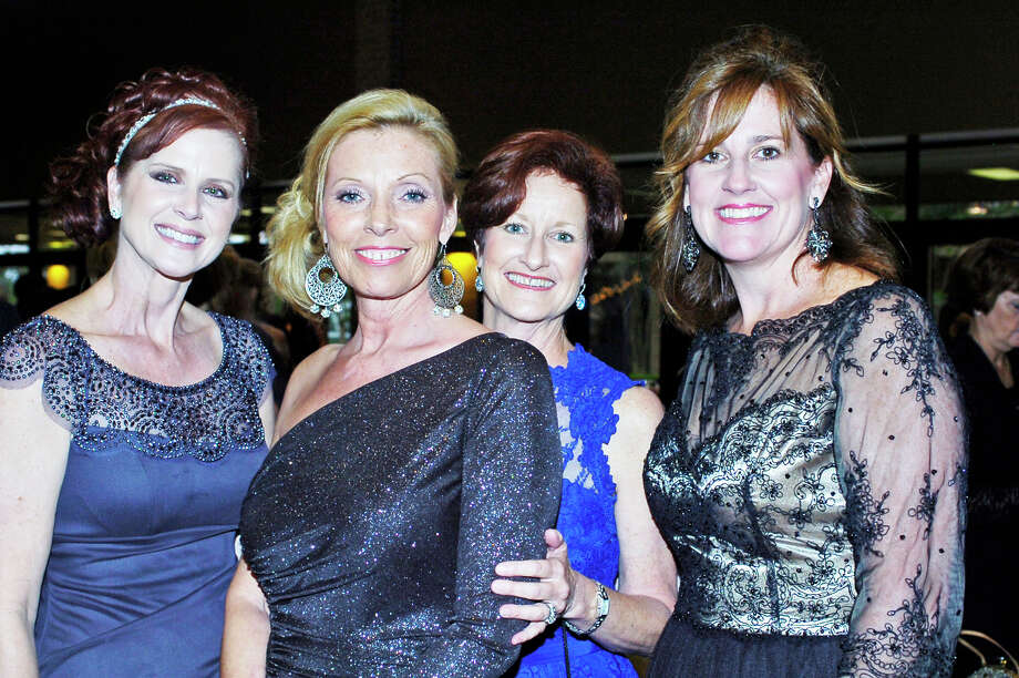 Southeast Texas Reba McEntire fans and Christus Health Foundation supporters dressed to the nines for the 34th annual black tie gala Saturday at Beaumont Civic Center. Photo: Sarah Moore