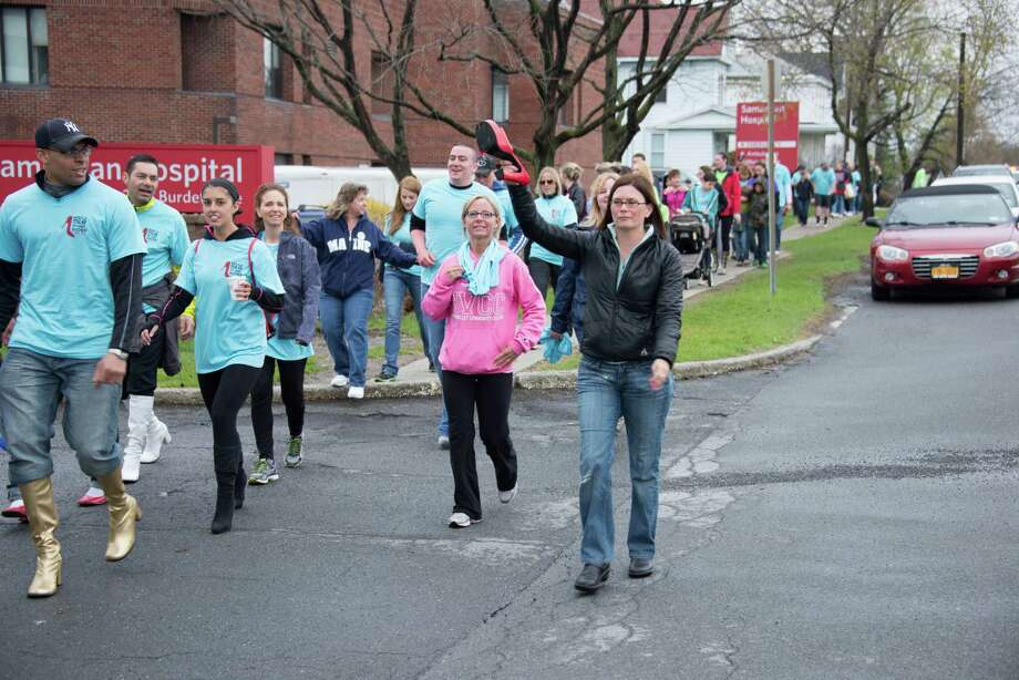 Were you Seen walking with hundreds of men in high heels at the 7th Annual Walk A Mile in Her Shoes benefit for Samaritan Hospital's Sexual Assault & Crime Victims Assistance Program in Troy on Saturday, April 26, 2014? Photo: All Occasions Photography